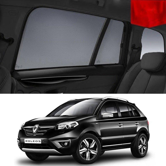 Renault KOLEOS 2008-2015   Car Shades | Snap On Magnetic Sun Shades Window Blind