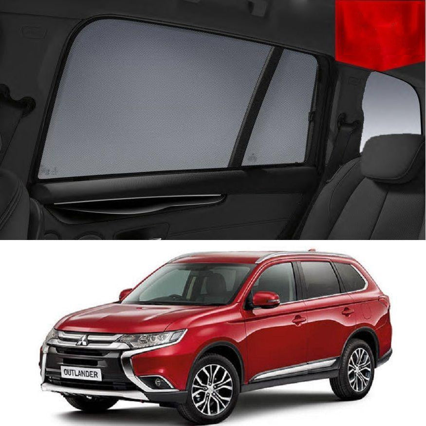 For Mitsubishi Outlander ZJ/ZK 2012-2020 Magnetic Rear Window Sun Blind Sun Shade
