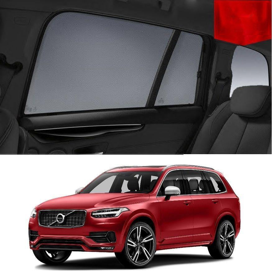 For VOLVO 2015-2020 XC90 Rear Side Car Window Sun Blind Sun Shade For baby Mesh