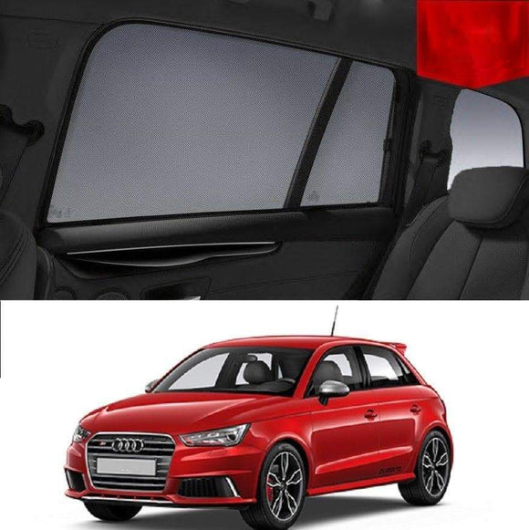 AUDI A1 5-Door 2011-2019  Car Shades | Snap On Magnetic Sun Shades Window Blind
