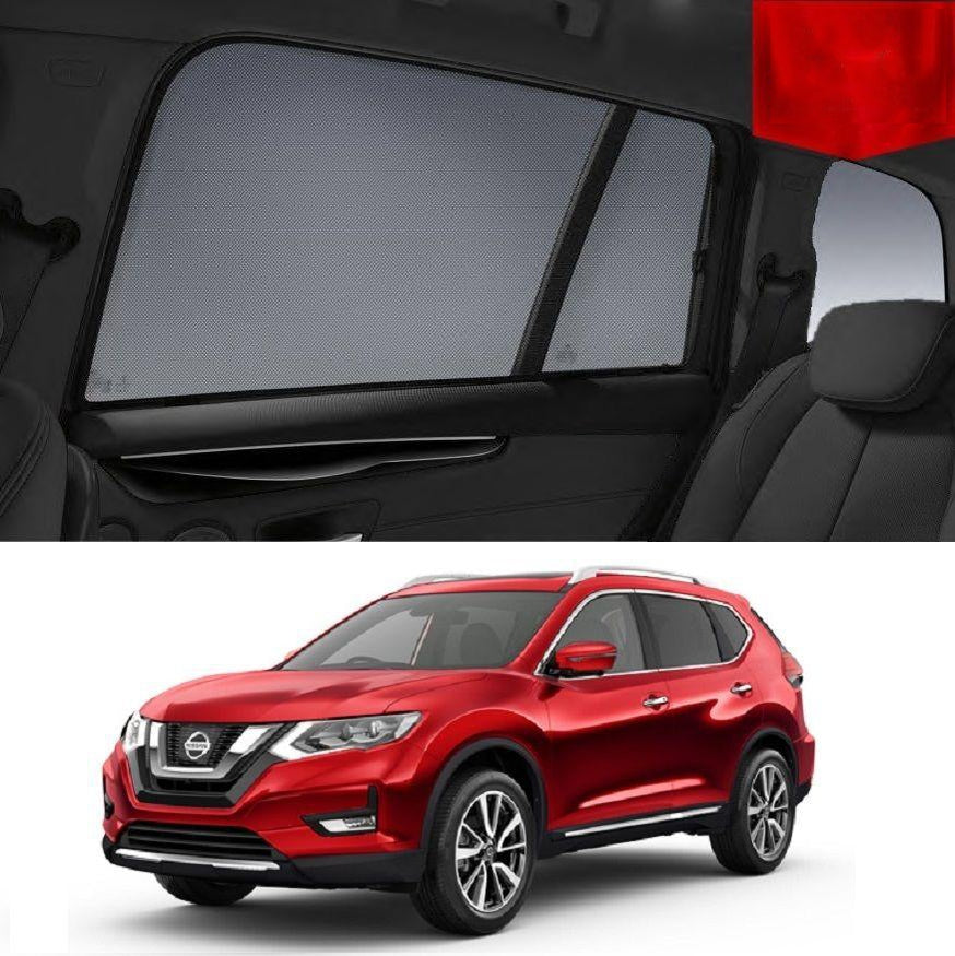 For Nissan X-Trail 2014-2020 T32 Magnetic Rear Side Car Window Sun Blind Sun Shade