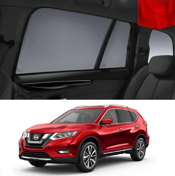 Nissan X-Trail 2014-2019 T32 Magnetic Rear Side Car Window Sun Blind Sun Shade