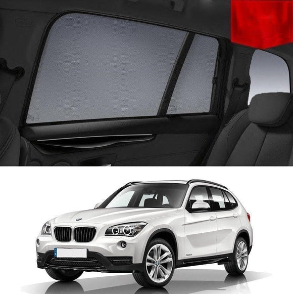 BMW X1 2012-2015 E84 LCI  Car Shades | Snap On Magnetic Sun Shades Window Blind