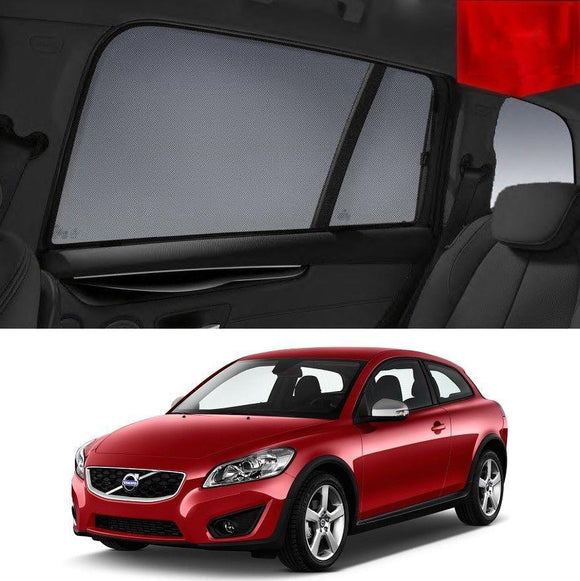 VOLVO 2007-2013 C30   Car Shades | Snap On Magnetic Sun Shades Window Blind