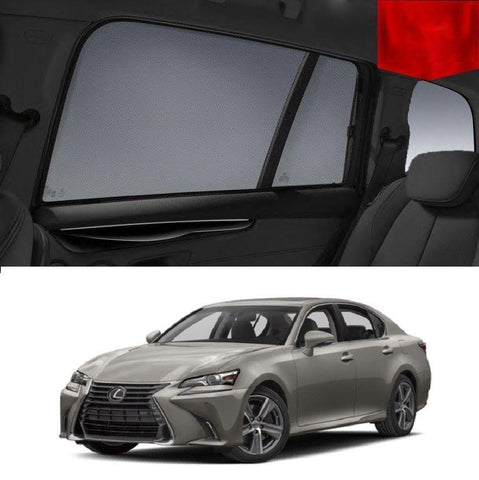 For LEXUS 2015-2018 GS  Rear Side Car Window Sun Blind Sun Shade For baby Mesh