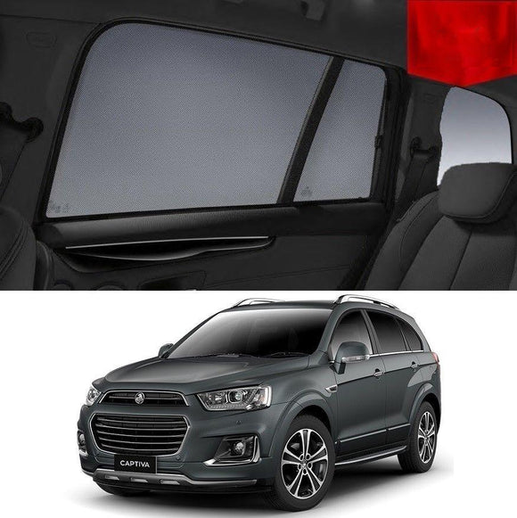 HOLDEN CAPTIVA CG 2016-2020   Car Shades | Snap On Magnetic Sun Shades Window Blind