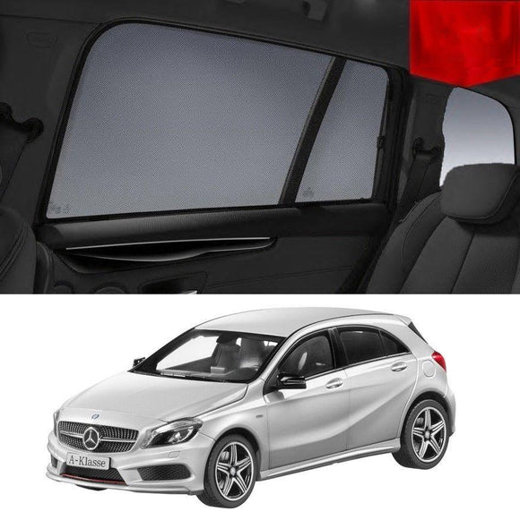 MERCEDES-BENZ A Class 2012 - 2018 W176   Car Shades | Snap On Magnetic Sun Shades Window Blind