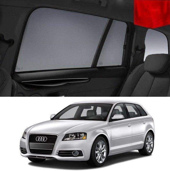 AUDI A3 Hatchback 2004-2013 8P  Car Shades | Snap On Magnetic Sun Shades Window Blind