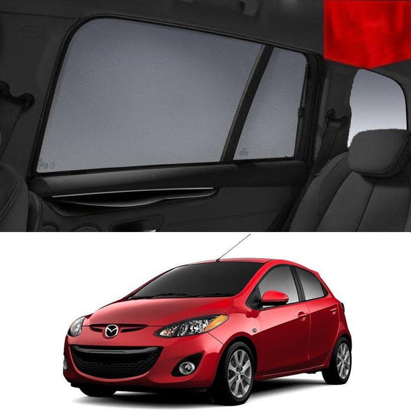 Mazda 2 Hatchback DE 2007-2014 Magnetic Rear Car Window Sun Blind Sun Shade Mesh