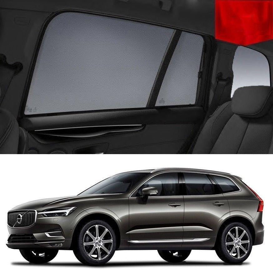 For VOLVO 2017-2020 XC60 Rear Side Car Window Sun Blind Sun Shade For baby Mesh