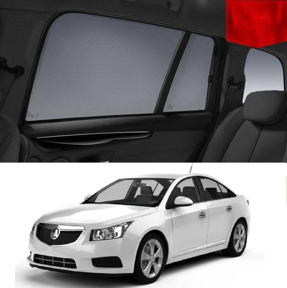 HOLDEN Cruze Sedan 2011-2016 JH   Car Shades | Snap On Magnetic Sun Shades Window Blind
