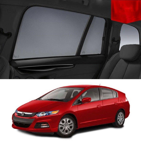 HONDA Insight 2009-2013 ZE   Car Shades | Snap On Magnetic Sun Shades Window Blind