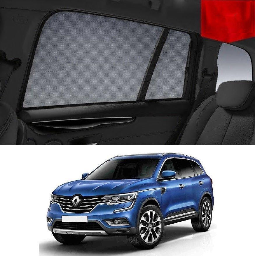For Renault KOLEOS 2015-2019 Magnetic Rear Side Car Window Sun Blind Sun Shade Mesh
