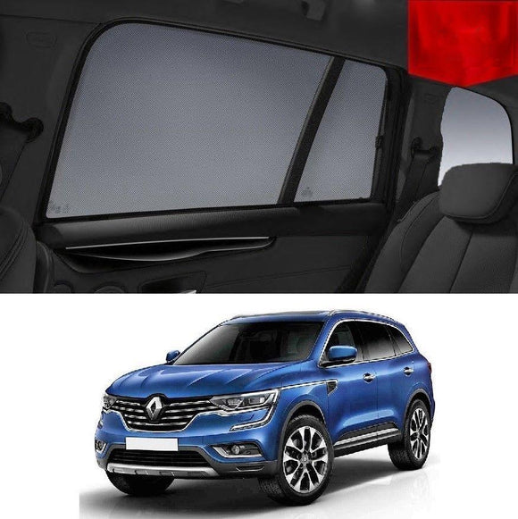 Renault KOLEOS 2015-2020   Car Shades | Snap On Magnetic Sun Shades Window Blind