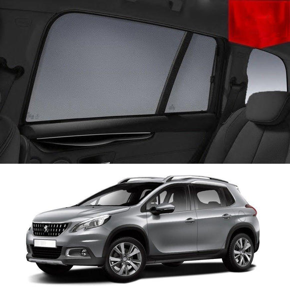 PEUGEOT 2008 2013-2019   Car Shades | Snap On Magnetic Sun Shades Window Blind