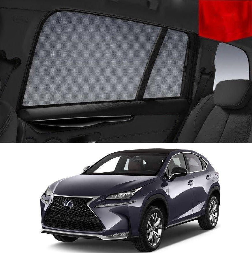 For LEXUS 2014-2020 NX Rear Side Car Window Sun Blind Sun Shade For Baby Mesh