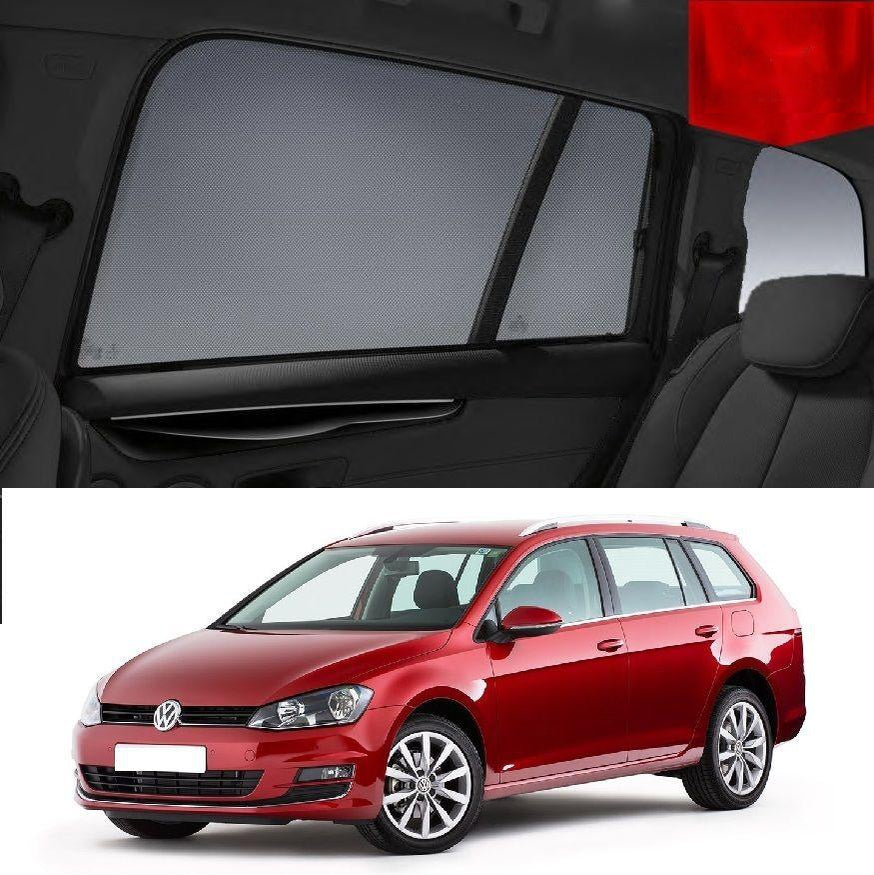 For Volkswagen GOLF 7 Wagon 2009-2017 Magnetic Car Window Sun Blind Sun Shade Mesh