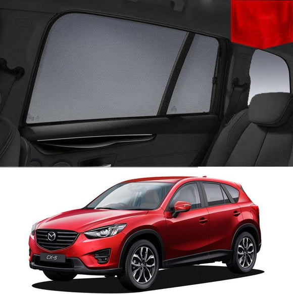 Mazda CX-5 KE 2012-2017 Magnetic Rear Side Car Window Sun Blind Sun Shade Mesh