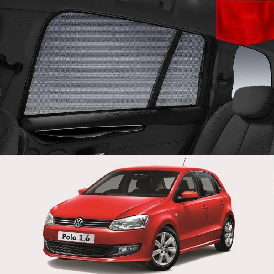 For Volkswagen POLO HATCHBACK 2009-2017 Magnetic Car Window Sun Blind Sun Shade Mesh