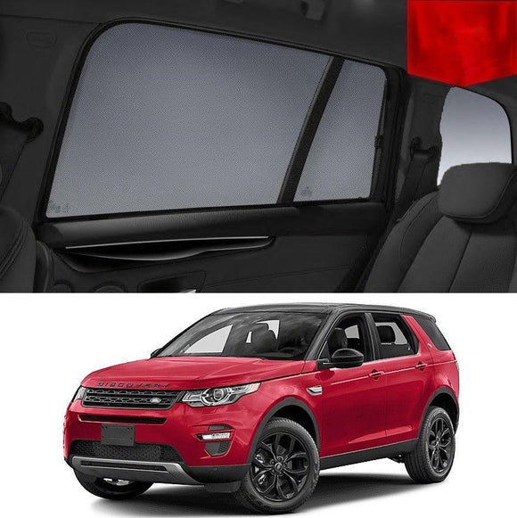 Land Rover Discovery Sport 2015-2020   Car Shades | Snap On Magnetic Sun Shades Window Blind