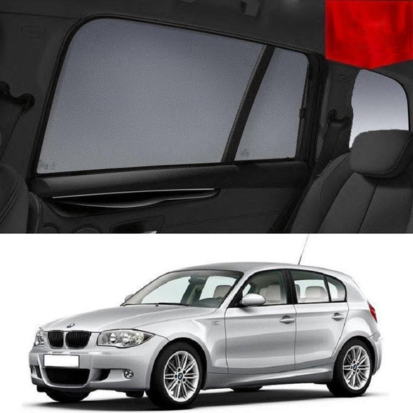 BMW 1 Series 2004-2011 E87 Car Shades | Snap On Magnetic Sun Shades Window Blind