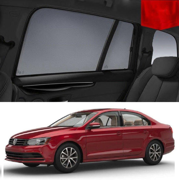Volkswagen Jetta 6 Sedan 2010-2017 Magnetic Car Window Sun Blind Sun Shade Mesh