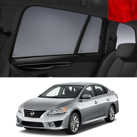 Nissan Pulsar Sedan 2013-2017 B17 Magnetic Rear Car Window Sun Shade Mesh