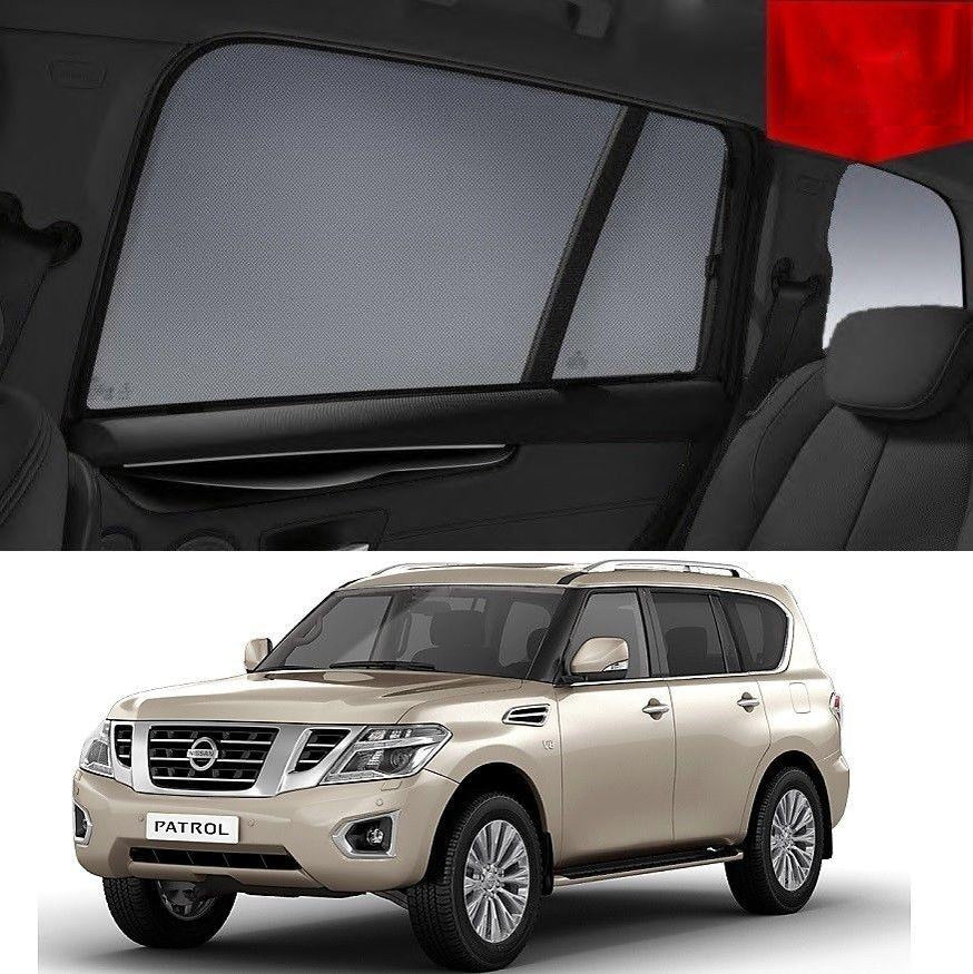 For Nissan Patrol 2015-2020 Y62 Magnetic Rear Side Car Window Sun Shade Mesh
