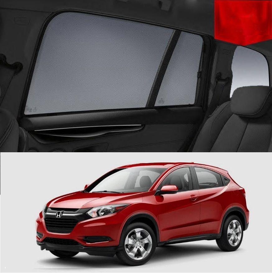 For HONDA HRV 2015-2020 Magnetic Rear Side Car Window Sun Blind Sun Shade Mesh