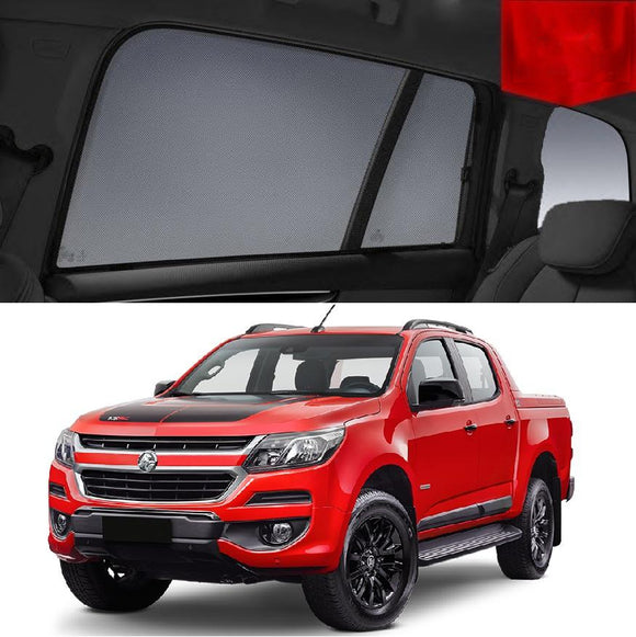 HOLDEN Colorado RG 2014-2020 Rear Side Car Window Sun Blind  Sun Shade Mesh