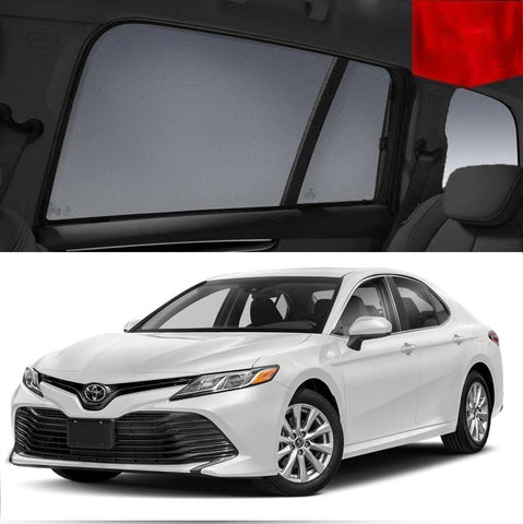 For TOYOTA Camry 2017-2020 XV70 Magnetic Rear Side Car Window Shade