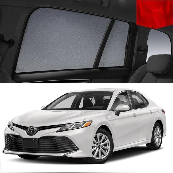 TOYOTA Camry 2017-2020 XV70  Car Shades | Snap On Magnetic Sun Shades Window Blind