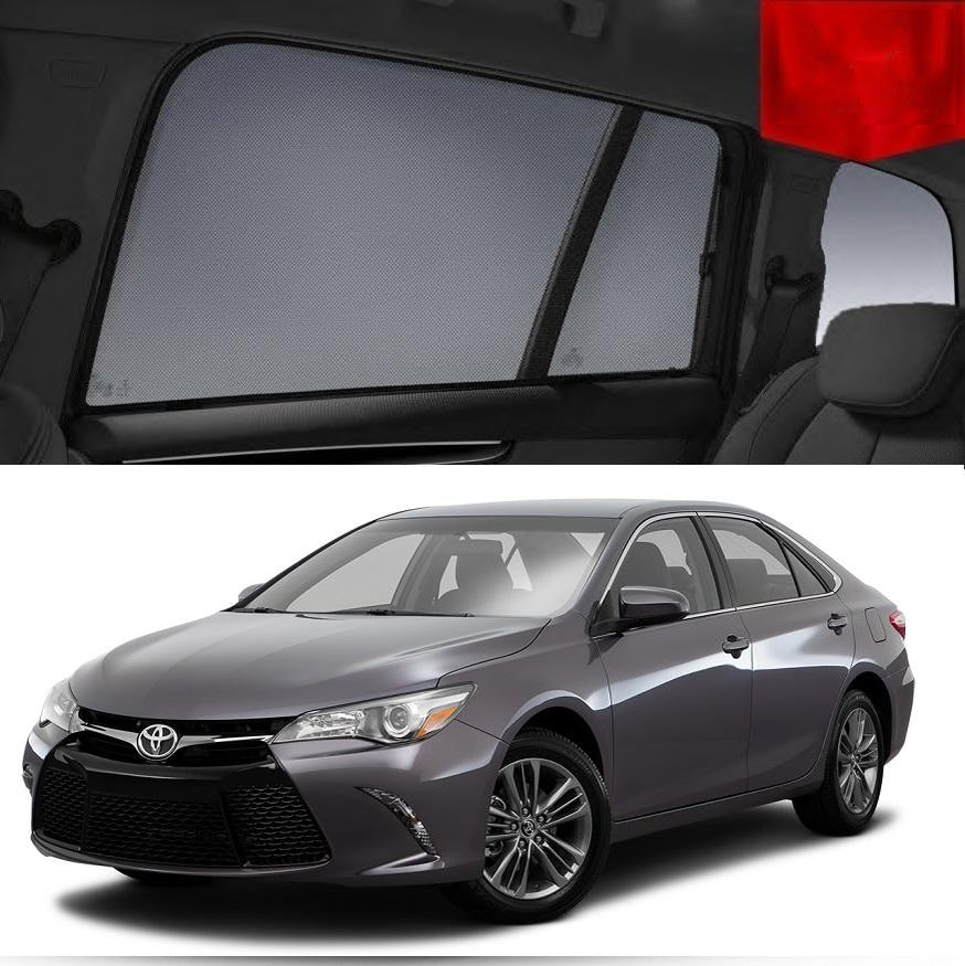 For TOYOTA Camry 2011-2017 XV50 Magnetic Rear Side Car Window Shade