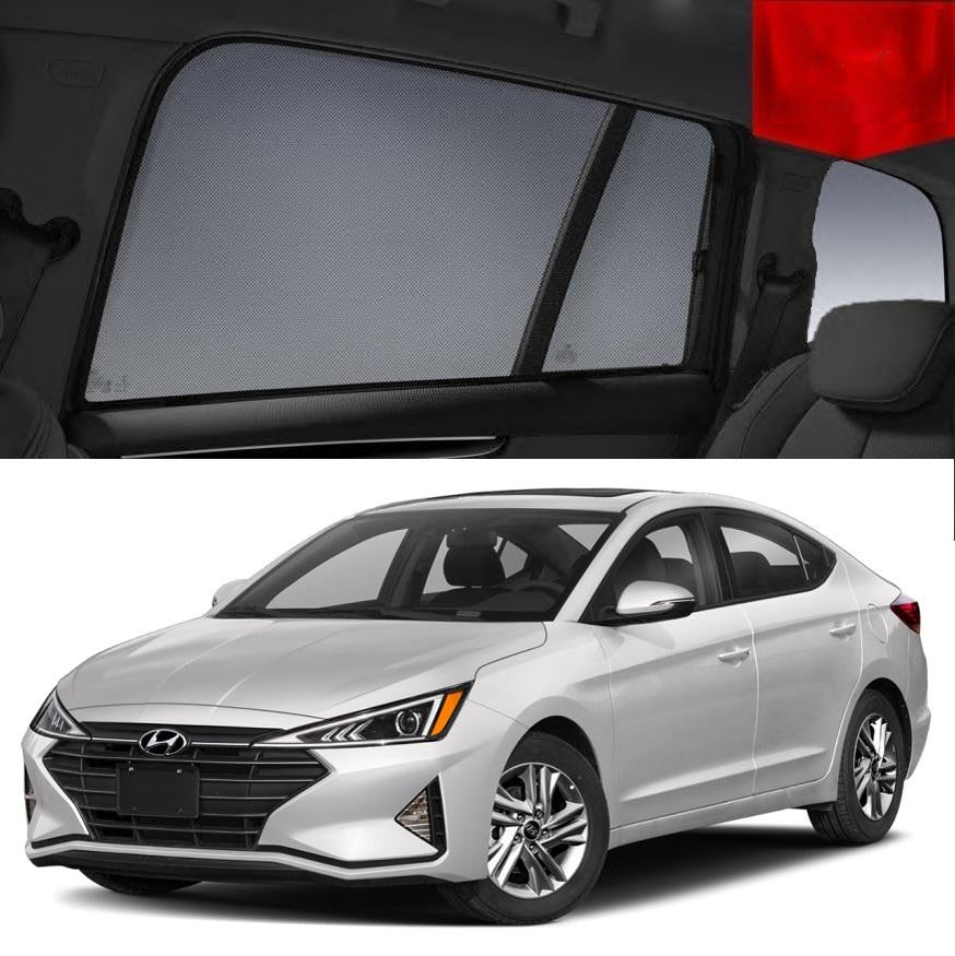 For Hyundai Elantra 2015-2020 AD Rear Side Car Window Sun Blind Sun Shade Mesh