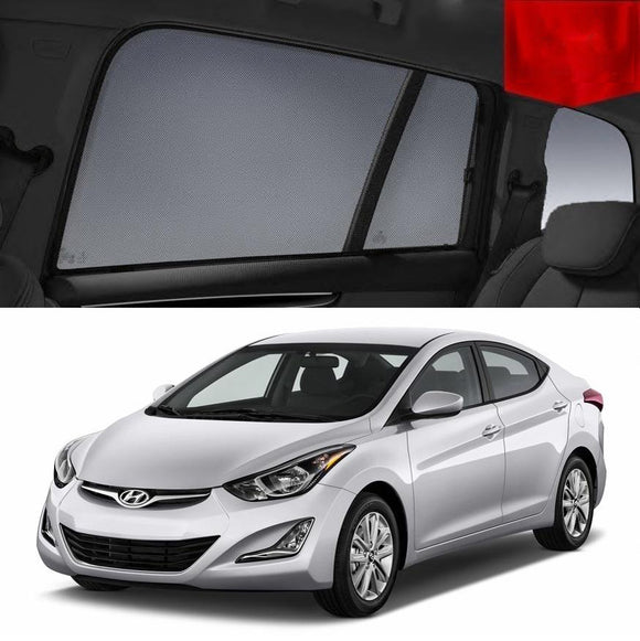 For Hyundai Elantra 2010-2015 MD Rear Side Car Window Sun Blind Sun Shade Mesh
