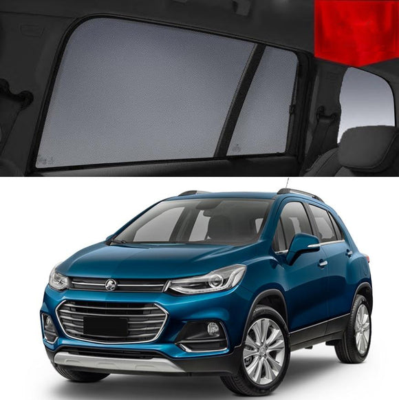 For HOLDEN Trax 2014-2020 Tj  Rear Side Car Window Sun Blind Sun Shade For baby Mesh