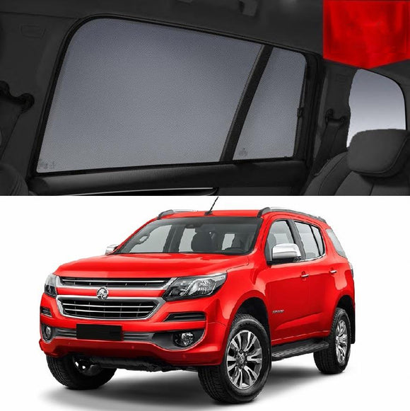 Holden Trailblazer RG 2016-2020   Car Shades | Snap On Magnetic Sun Shades Window Blind