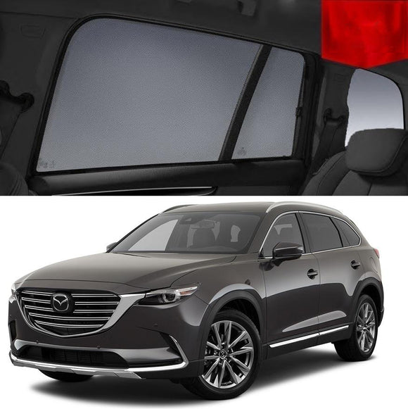 For Mazda CX-9 TC 2016-2020 Magnetic Rear Side Car Window Sun Blind Sun Shade Mesh