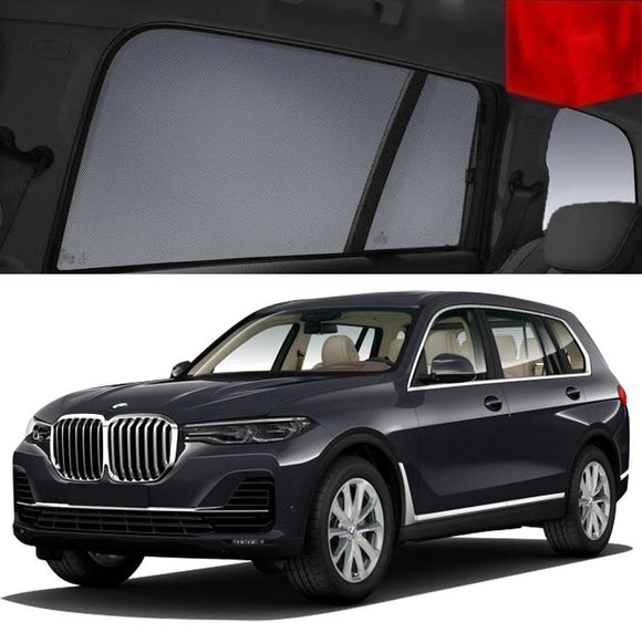 For BMW X7 G07 2019-2020 Window Side Sun Shade Magnetic Car Shades