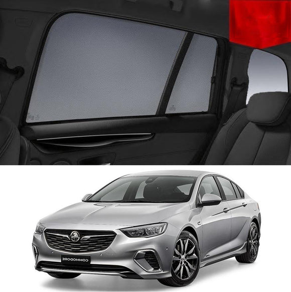 HOLDEN Commodore ZB Sedan 2017-2019   Car Shades | Snap On Magnetic Sun Shades Window Blind