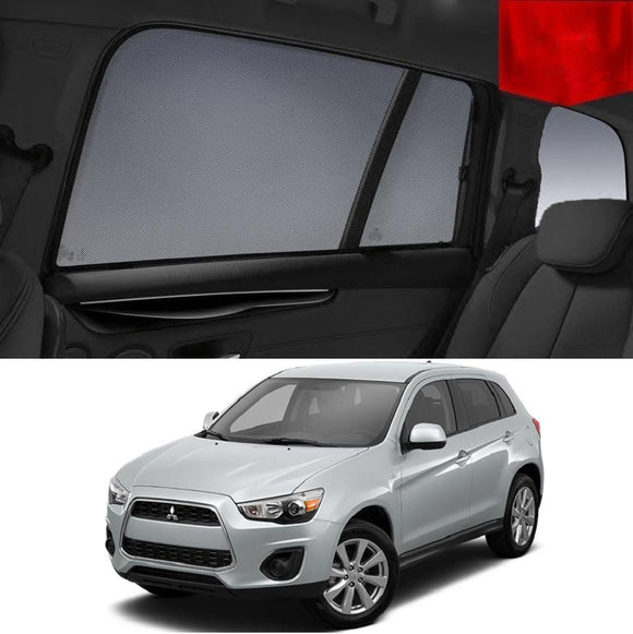 Mitsubishi Outlander ZH 2009-2012  Car Shades | Snap On Magnetic Sun Shades Window Blind