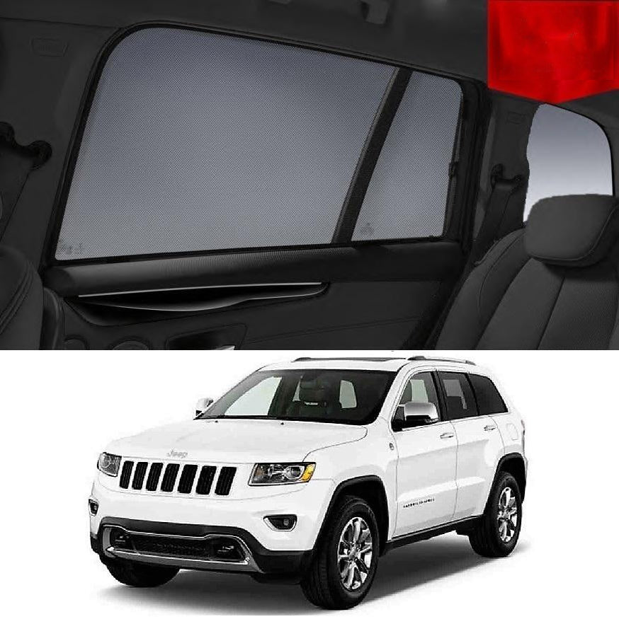 For JEEP Grand Cherokee 2010-2013 WK Rear Side Car Window Sun Blind Sun Shade Mesh