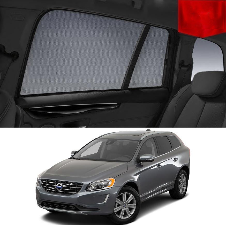 For VOLVO 2009-2016 XC60 Rear Side Car Window Sun Blind Sun Shade For baby Mesh