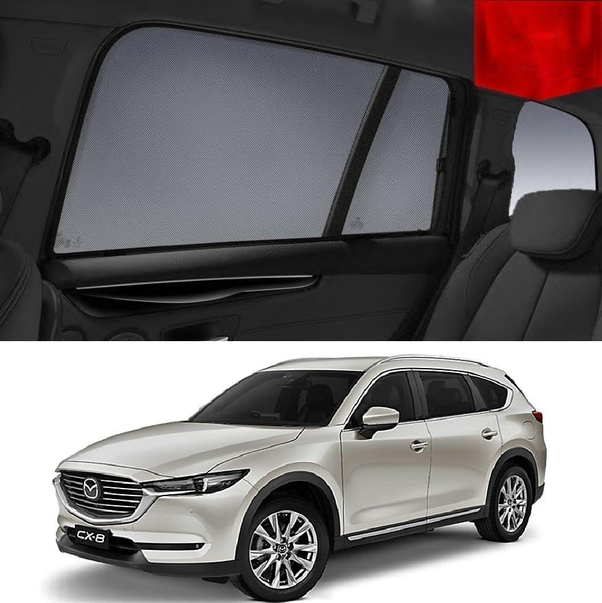 Mazda CX-8 KG 2018 Magnetic Rear Side Car Window Sun Blind Sun Shade Mesh
