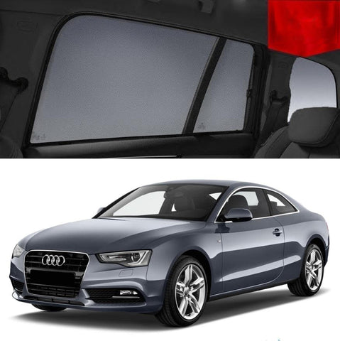 AUDI A5 Window Sun Shade 8T Coupe 2007 - 2016 Magnetic Car Shade