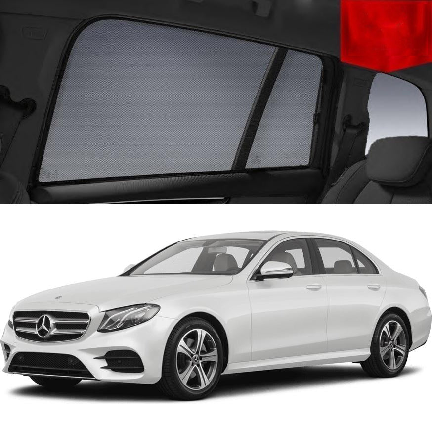 For MERCEDES-BENZ E-Class Sedan 2016-2019 W213 Rear Window Sun Blind Sun Shade Mesh