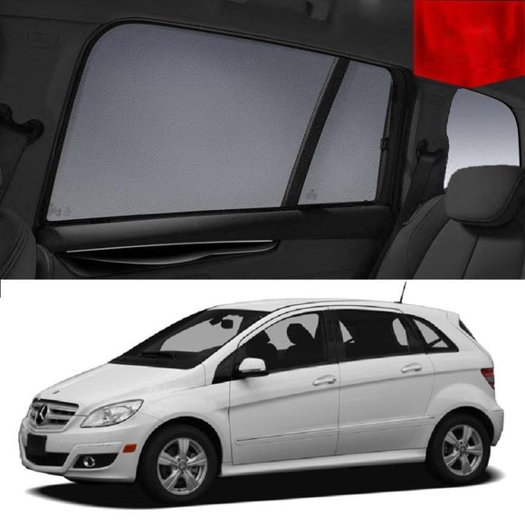 Mercedes-Benz B-Class 2005-2012 W245   Car Shades | Snap On Magnetic Sun Shades Window Blind