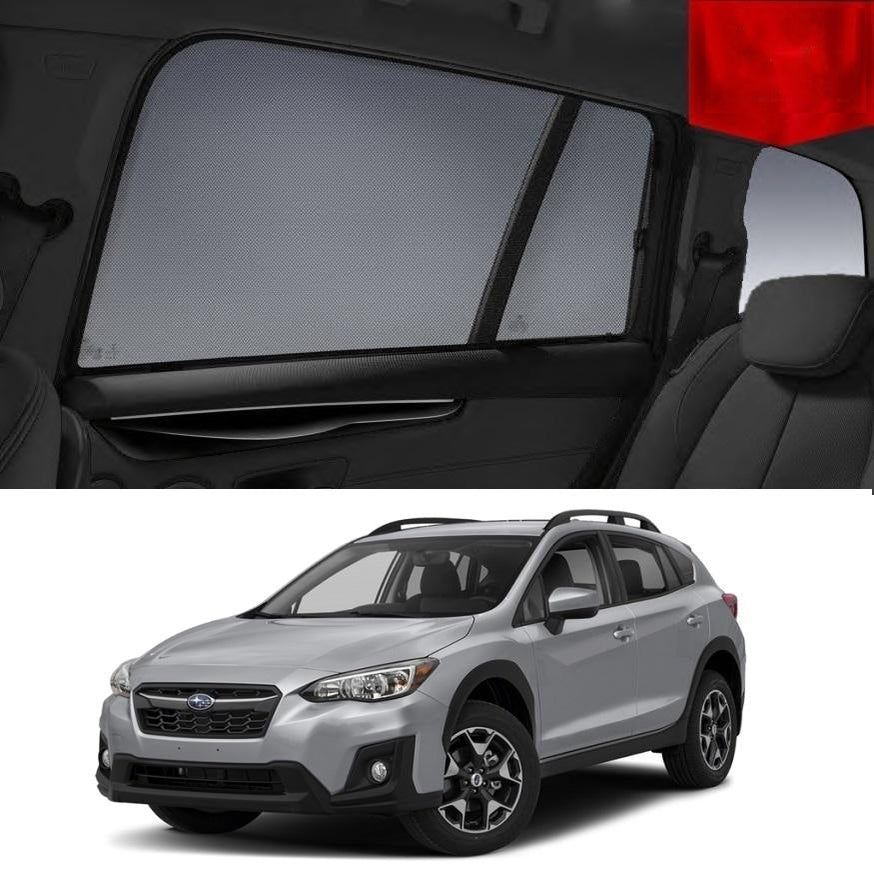 For SUBARU XV 2017-2020 Magnetic Rear Side Car Window Sun Blind Sun Shade Mesh
