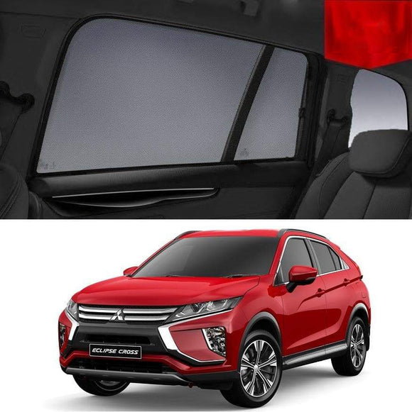 Mitsubishi Eclipse Cross 2017-2020  Car Shades | Snap On Magnetic Sun Shades Window Blind