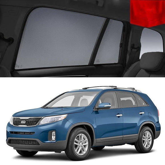 KIA Sorento 2010-2014 XM   Car Shades | Snap On Magnetic Sun Shades Window Blind